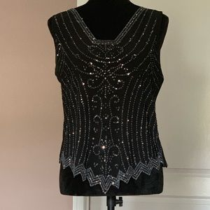 Sequin/Rhinestone top.